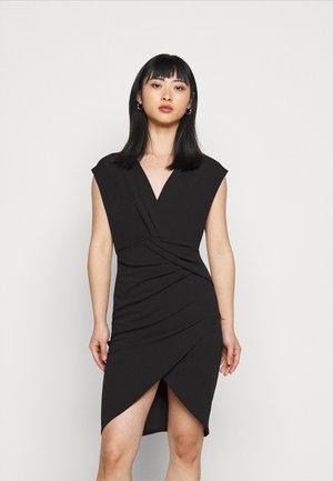 MIRAY - Jersey dress - black