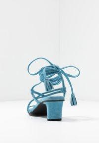 Vero Moda - VMSABINA  - Sandály s odděleným palcem - cyan blue - 5