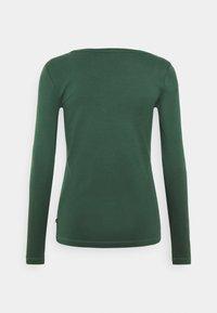 Esprit - CORE - Maglietta a manica lunga - dark green - 1