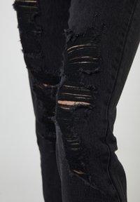 PULL&BEAR - Slim fit jeans - black denim - 3