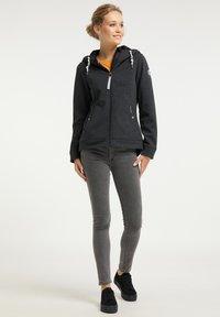 Schmuddelwedda - Outdoor jacket - dunkelgrau melange - 1