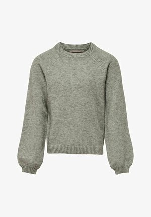 STRICK EINFARBIG - Strikpullover /Striktrøjer - medium grey melange