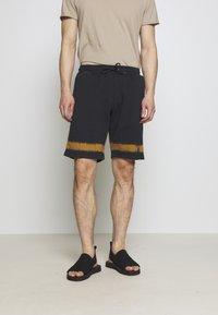 PS Paul Smith - MENS TIE DYE - Pantalon de survêtement - navy - 0