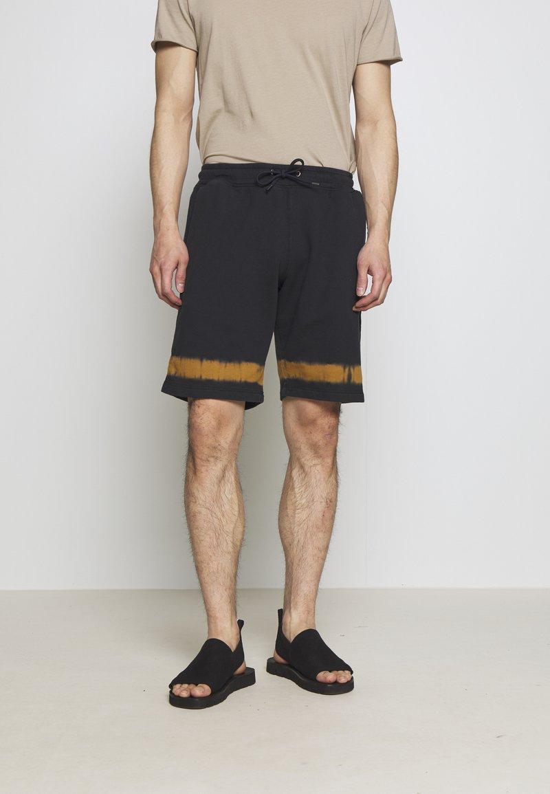 PS Paul Smith - MENS TIE DYE - Pantalon de survêtement - navy