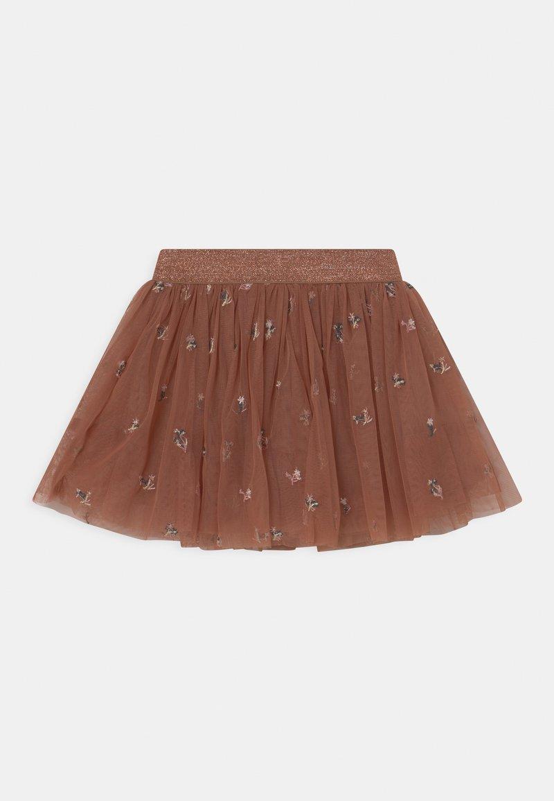 Hust & Claire - NAINA - Mini skirt - carob