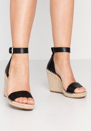NOOR - Sandalen met hoge hak - black