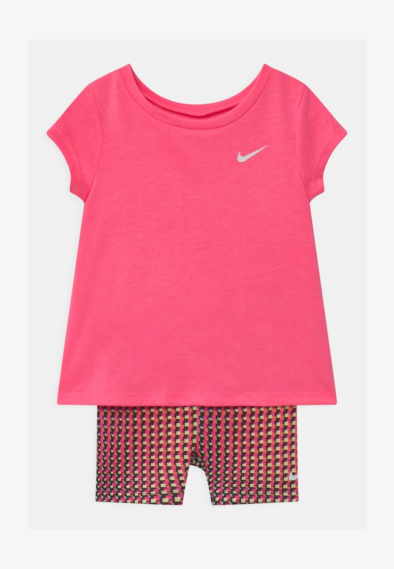 Nike Sportswear - BIKER SET - Kraťasy - pink/multi-coloured
