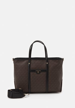 BECK TOTE - Handbag - brown/black