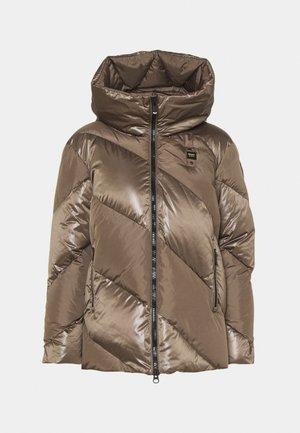 FASHION MAT MIX JACKET - Short coat - brown