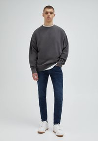 PULL&BEAR - Slim fit jeans - blue - 1