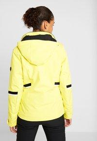 Ziener - TOYAH LADY - Ski jas - yellow power - 3
