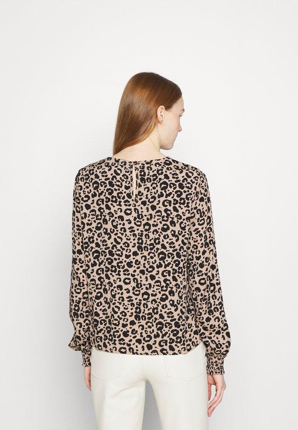 Vero Moda VMNANCY - Bluzka z długim rękawem - natural/beżowy QJYN