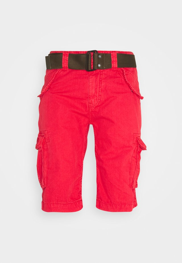 Shorts - spicy red