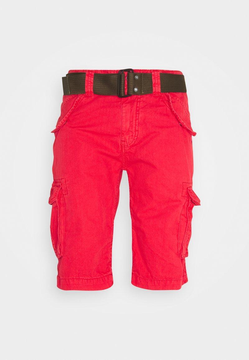 Schott - Shorts - spicy red