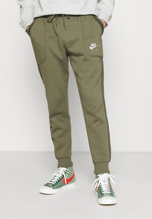 AIR - Verryttelyhousut - medium olive/cargo khaki/white