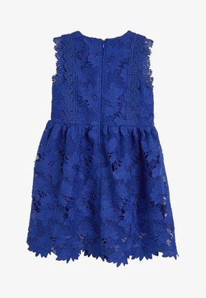 COBALT BLUE LACE DRESS  - Korte jurk - blue