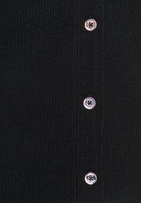 MICHAEL Michael Kors - RUFFLE CROP CARDI - Cardigan - black - 2