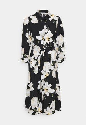OBJCASANDRA MIDI DRESS - Day dress - black