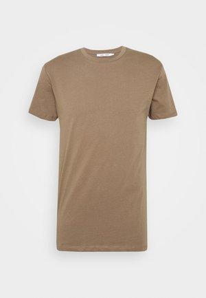 KRONOS  - Basic T-shirt - shitake
