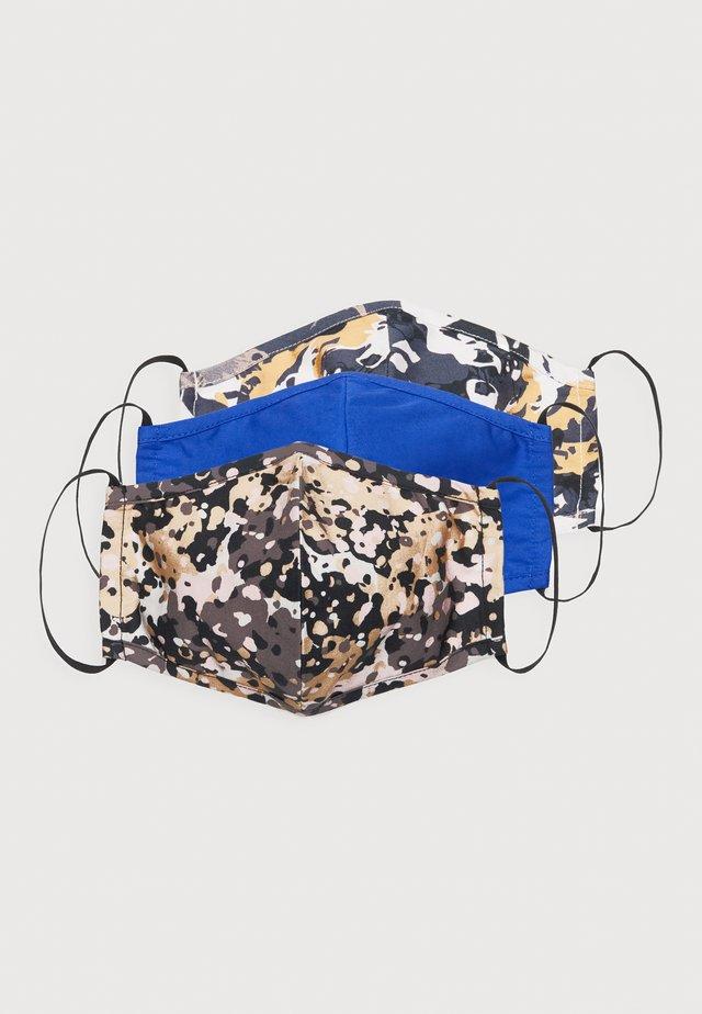 3 PACK - Munnbind i tøy - multi/blue