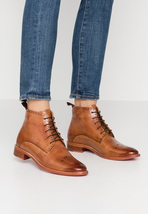 BETTY - Ankle boot - tan
