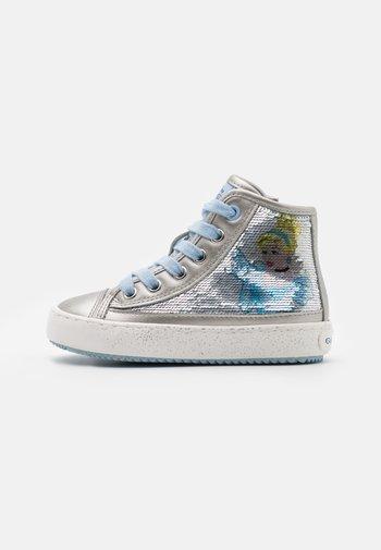 DISNEY PRINCESS CINDERELLA  KALISPERA GIRL - Sneakers alte - silver
