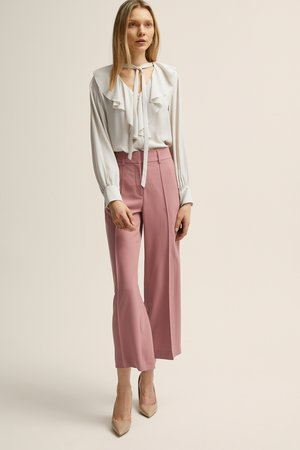 ANIARA  - Trousers - nostalgia rose