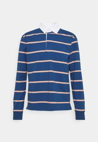 BENITO RUGBY OPTIC STRIPE - Polo shirt - ensign blue