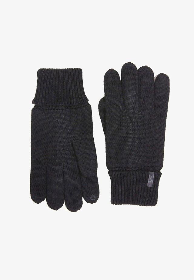 MIT THINSULATE™-FÜLLUNG - Gloves - black