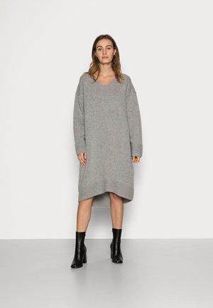 DRESS MARIE - Jumper dress - grey