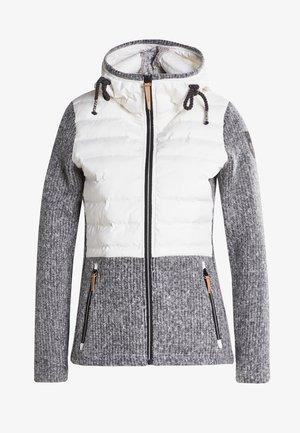 MIDLAYER TORSTAI CAROUGE - Fleece jacket - naturweiss