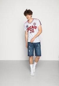 Brave Soul - TIGON - Camiseta estampada - white - 1