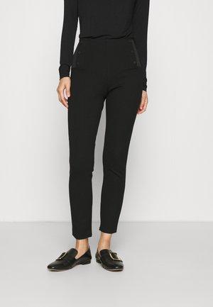 BRENDA MODERN PANTS - Trousers - black