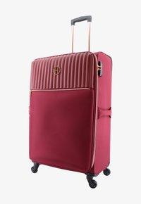 ELLE - Wheeled suitcase - burgund - 0