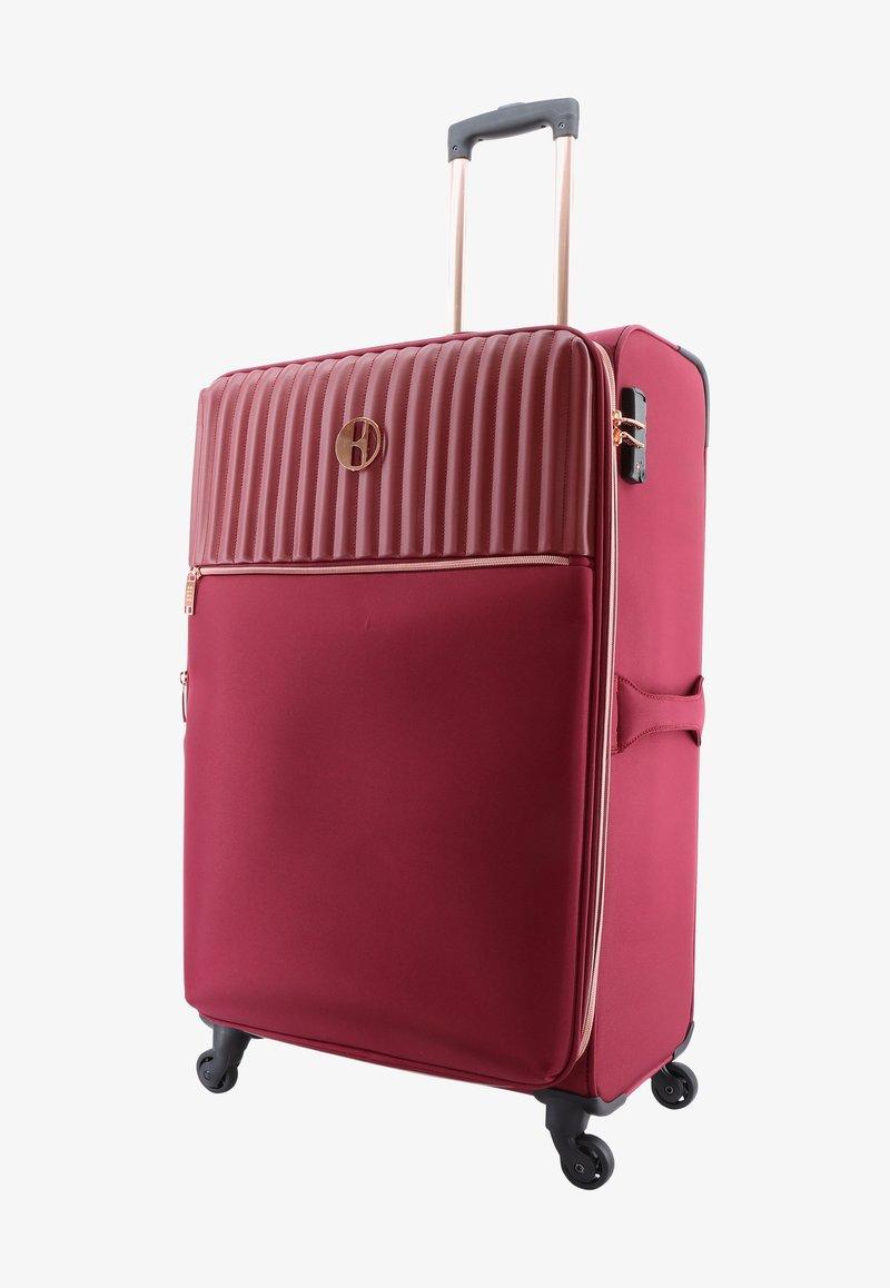 ELLE - Wheeled suitcase - burgund