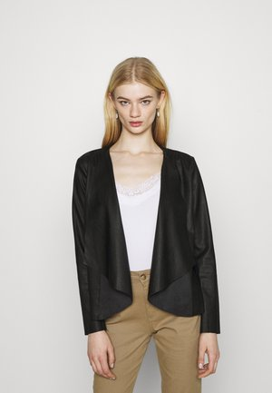 ONLLIANA DRAPY JACKET - Summer jacket - black