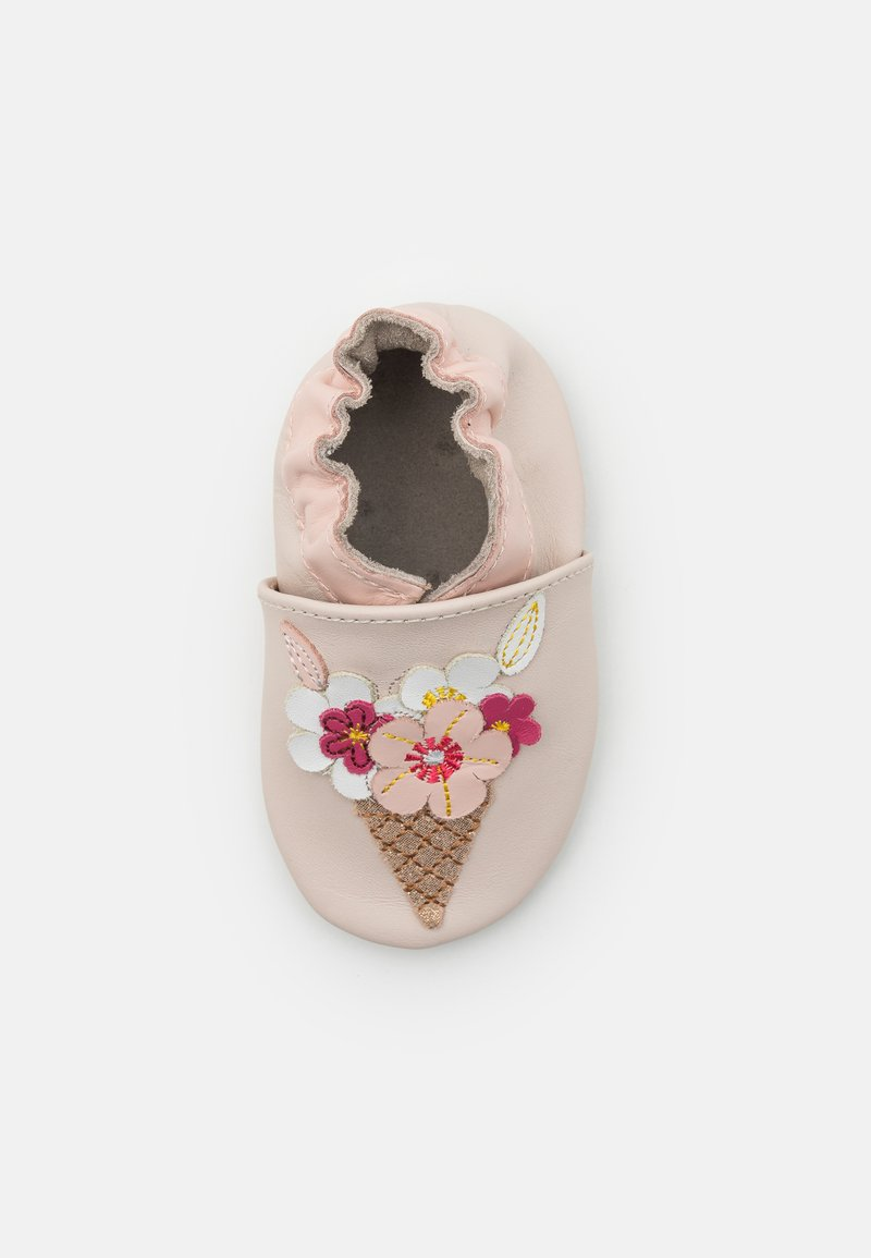 Robeez - ICE FLOWERS - First shoes - beige
