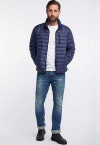HAWKE&CO - Down jacket - dark blue - 1