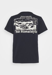 The North Face - HIMALAYAN BOTTLE SOURCE TEE - T-shirts med print - aviator navy - 1