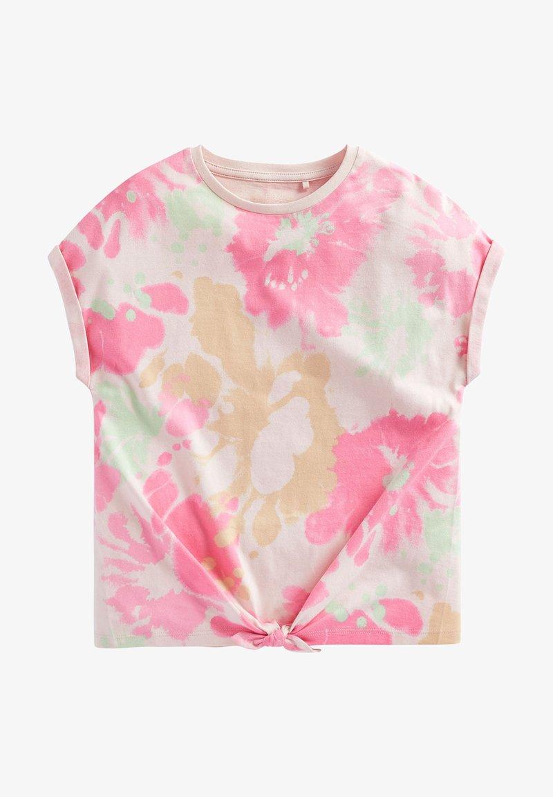 Next - Print T-shirt - pink