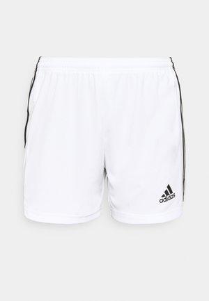 SQUADRA - Short de sport - white/black