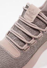 adidas Originals - TUBULAR SHADOW - Trainers - vapour grey/raw pink - 5