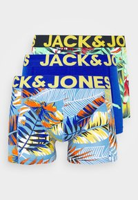 Jack & Jones - JACHIGH SUMMER TRUNKS 3 PACK - Shorty - surf the web/spring - 4