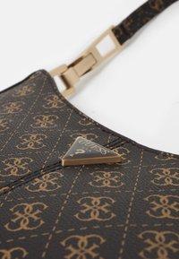 Guess - LAYLA TOP ZIP SHOULDER SET - Handbag - brown - 4