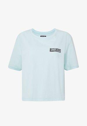 KNOW THE FEELING - Print T-shirt - bleached aqua