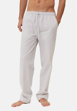 Pyjama bottoms - gray/white
