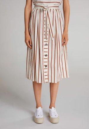 A-line skirt - rose dust