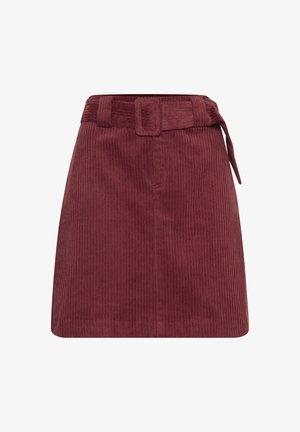 IHJORELLE SK - Mini skirt - burnt henna