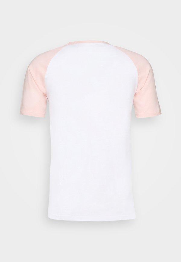 YOURTURN T-shirt z nadrukiem - pink/rÓżowy Odzież Męska OPUU