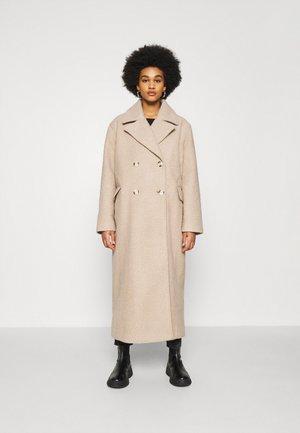 MAXI COAT - Płaszcz wełniany /Płaszcz klasyczny - light beige